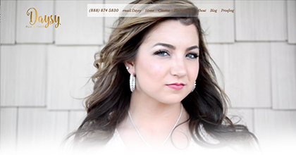 ByDaysy Photography responsive website