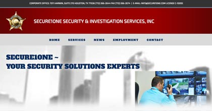 Secure1One website